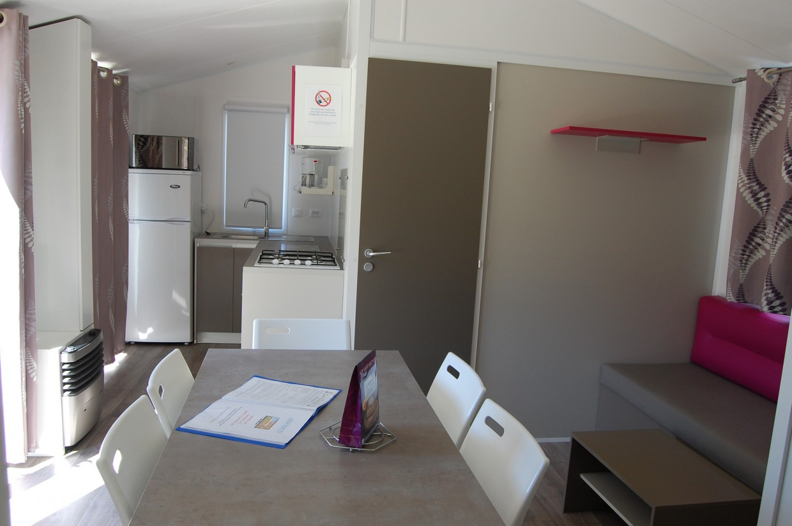 mobil home Les Clarines 34m²